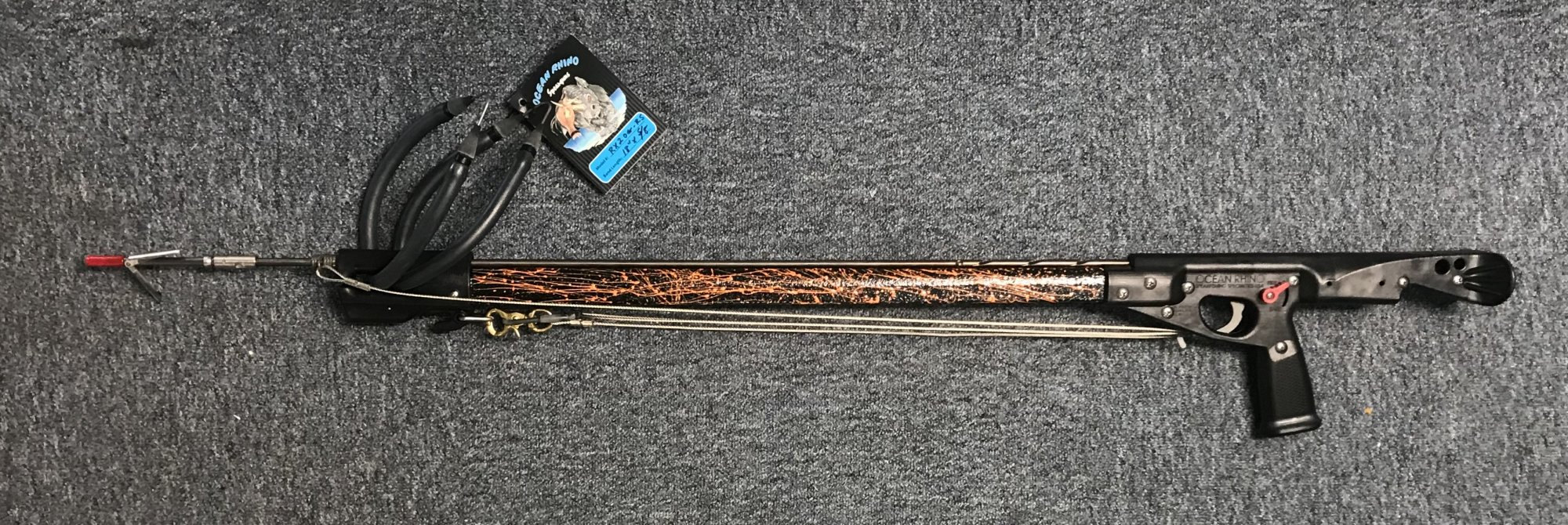 Ocean Rhino Lined Spear Guns
