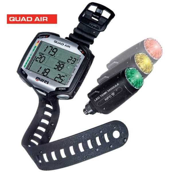 Mares Quad Air With LED Tank Module