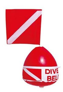 Innovative Inflatable Buoy Float with Flag