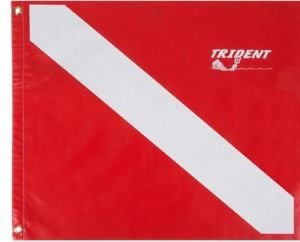 Trident Heavy Duty Poly Coated Dive Flags
