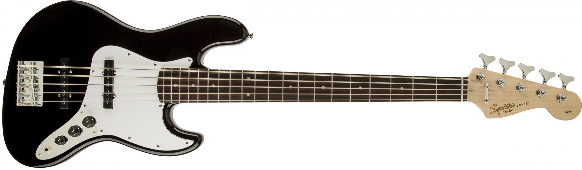 Affinity J Bass V Black