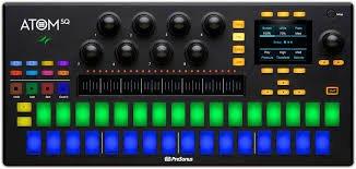 PreSonus ATOM SQ Keyboard/Pad Hybrid MIDI Keyboard/Pad Performance and Production Controller
