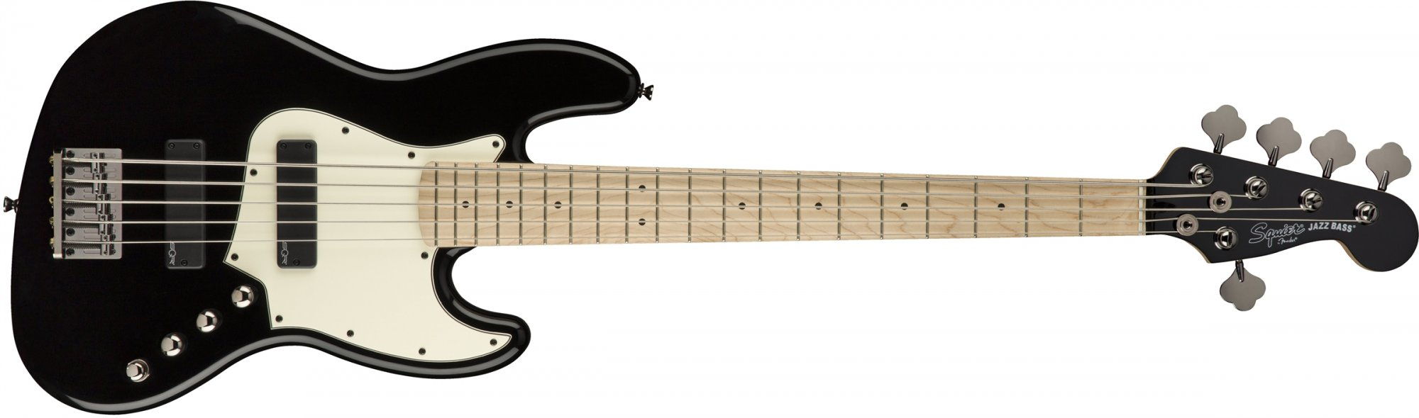 Contemporary Active Jazz Bass V HH Blk