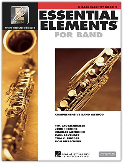 EE2000 Bass Clarinet Book 2