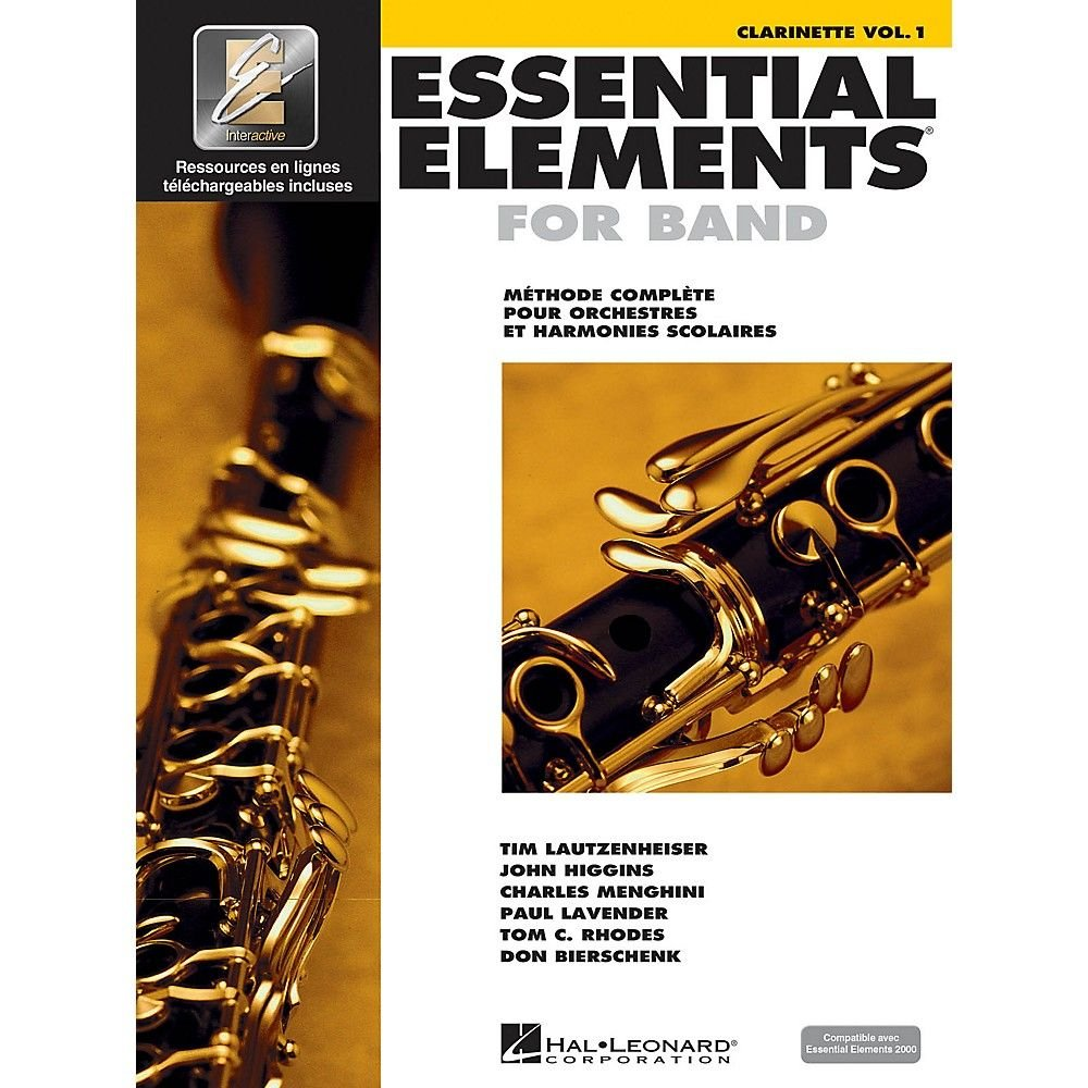 EE2000 Bb Clarinet - Book 1