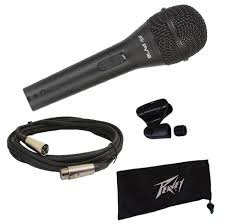 PVi2 Cardiod Microphone w/XLR Cable and Clip