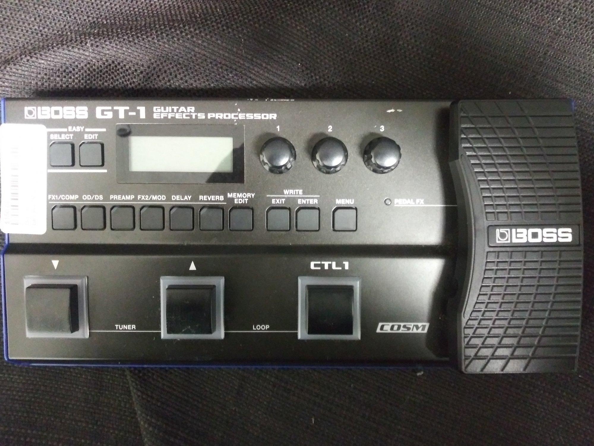 Used Boss GT-1 Effects Processor