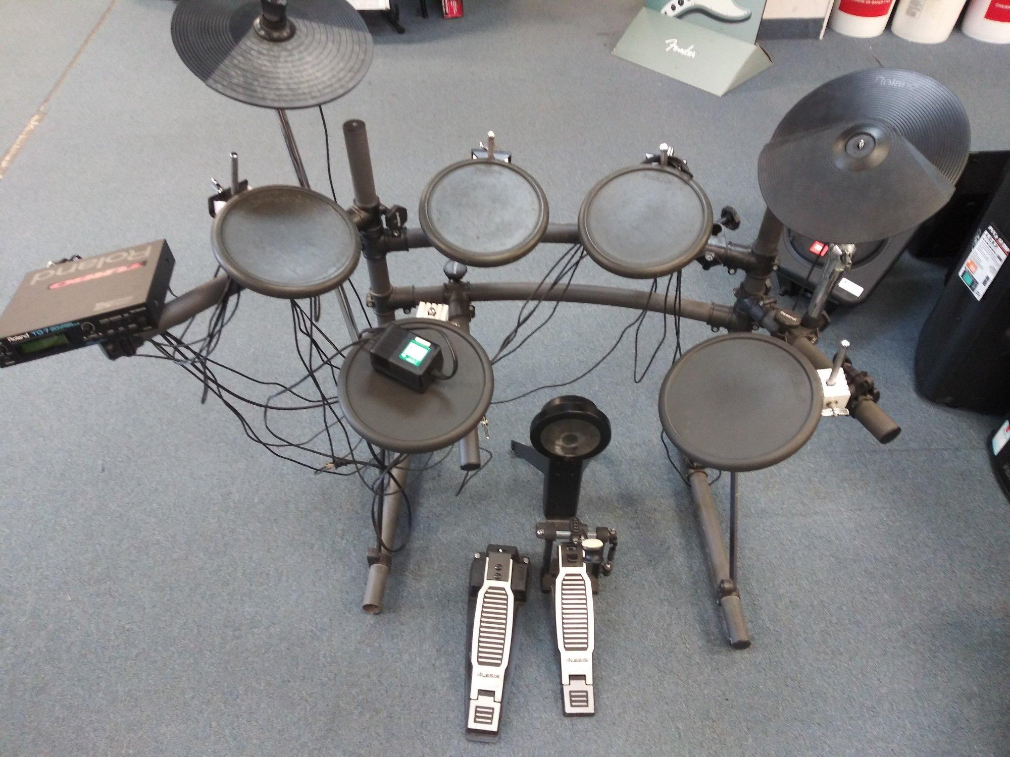 Used Roland TD-7 Electronic Drumkit