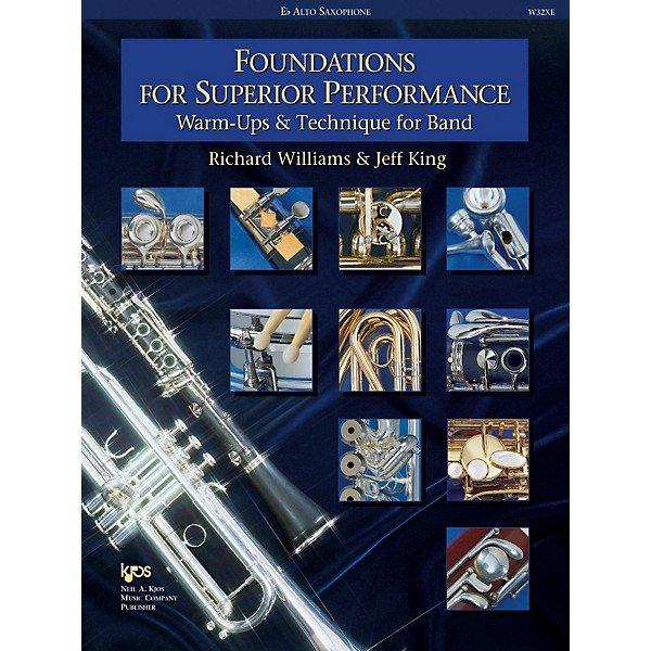 Foundations - Alto Saxophone