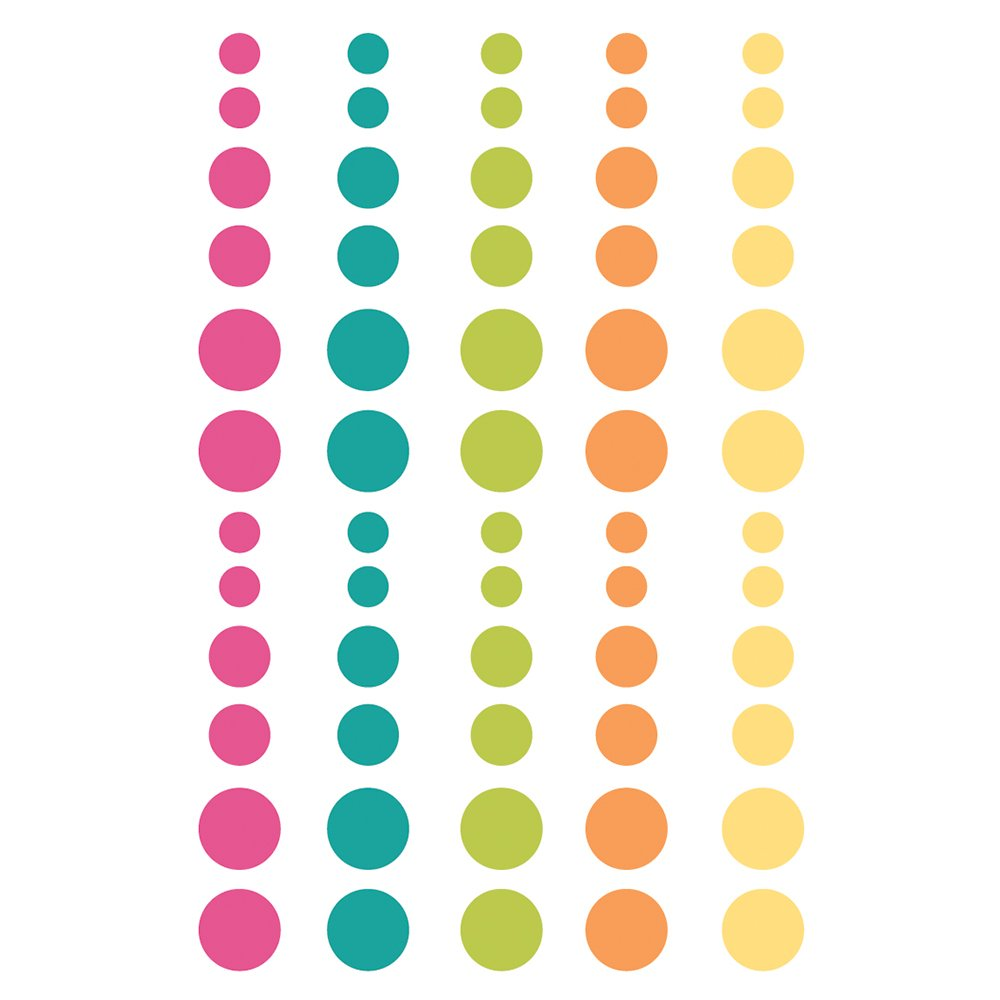 Simple Stories Oh Happy Day! Enamel Dots