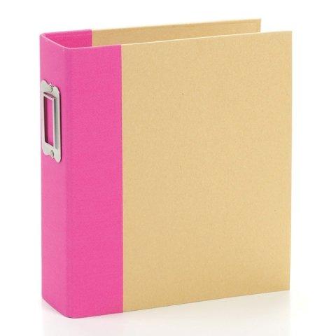 Simple Stories Snap 6x8 Binder -Pink