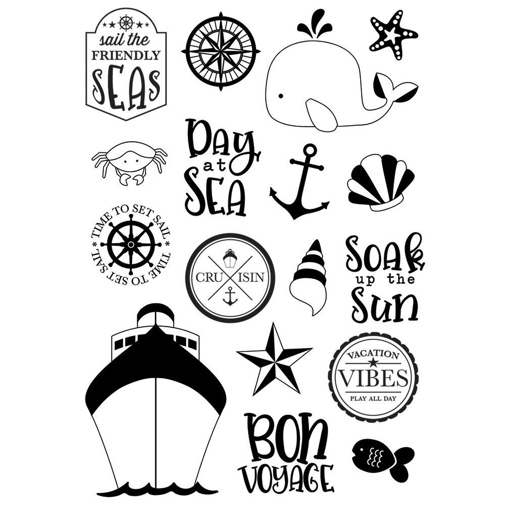 Simple Stories Crusin' Set Sail Stamp