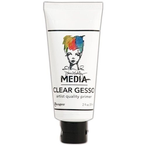 Dina Wakely Clear Gesso Tube
