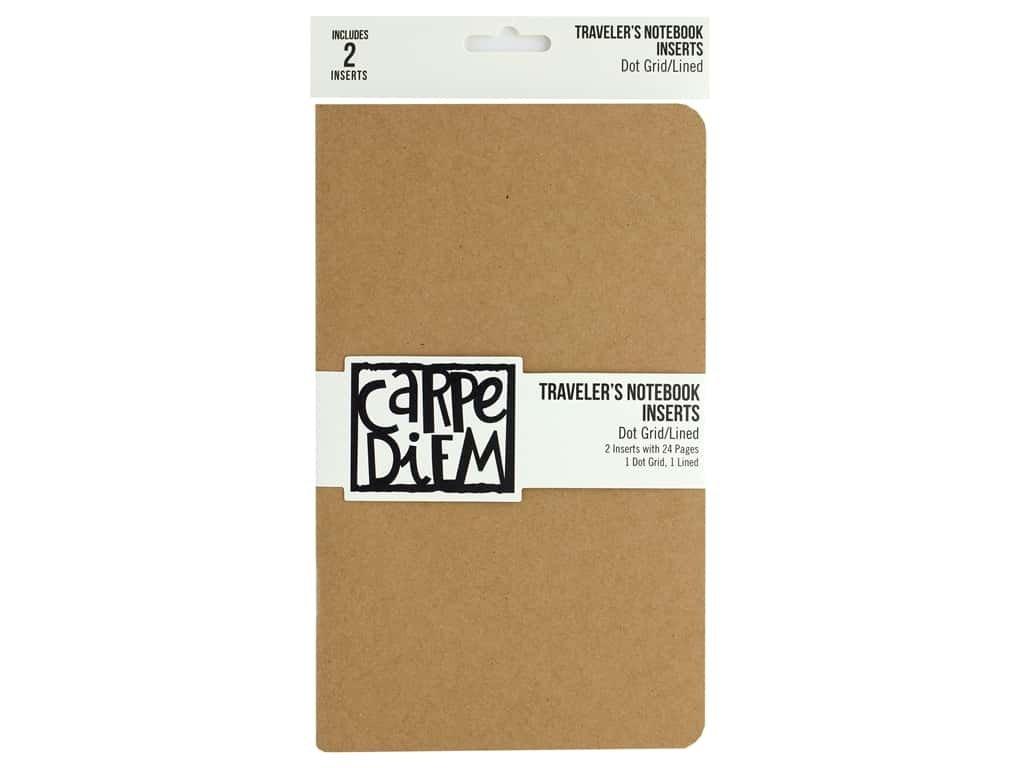 Simple Stories Carpe Diem Traveler's Notebook Inserts