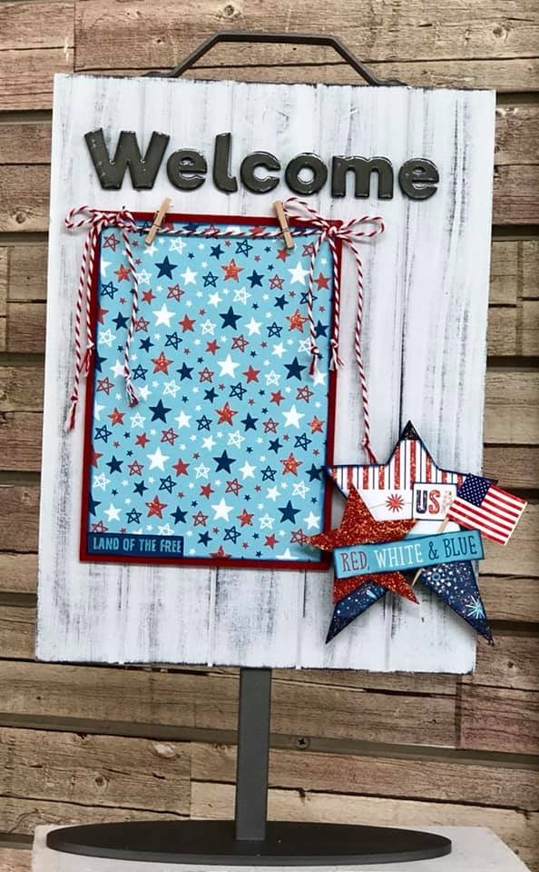 USA Star Kit for Welcome Photo Sign