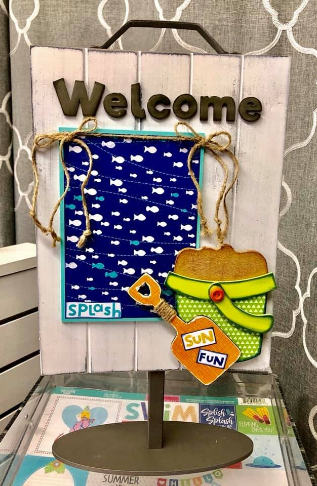 Sand Pail Kit for Welcome Photo Sign