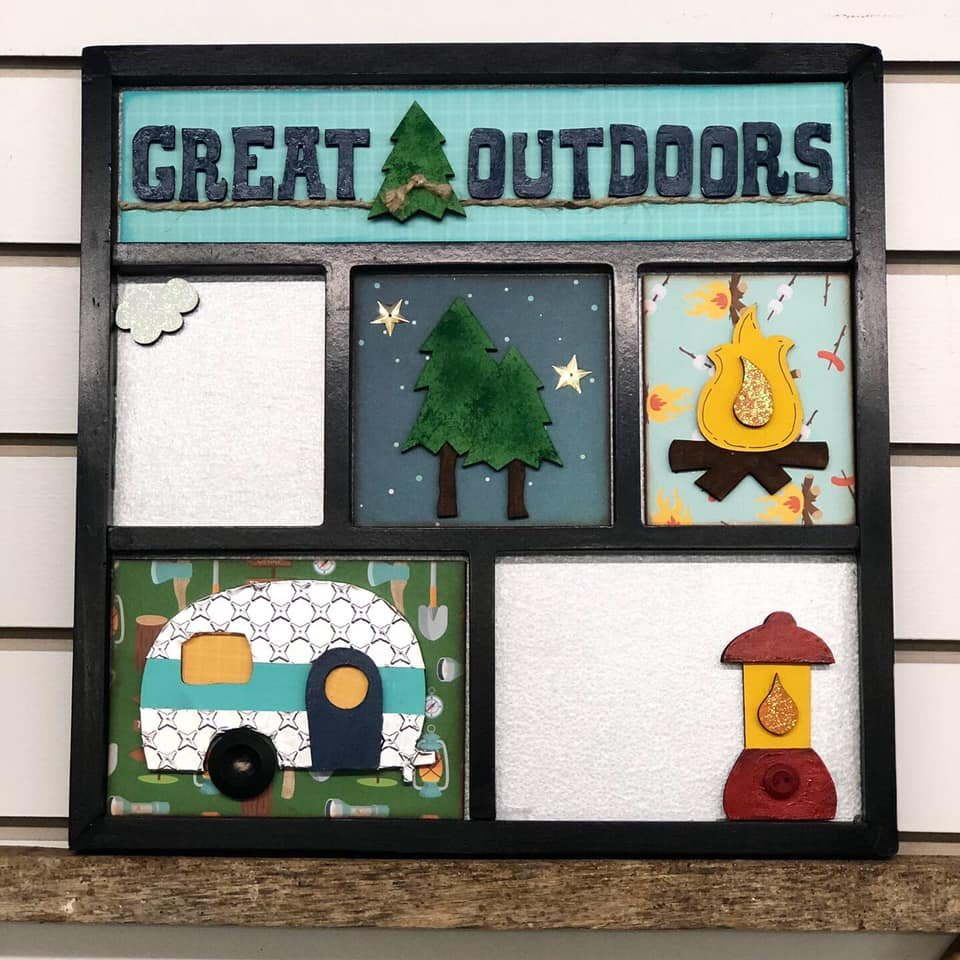 Magnetic Shadowbox Kit The Great Outdoors