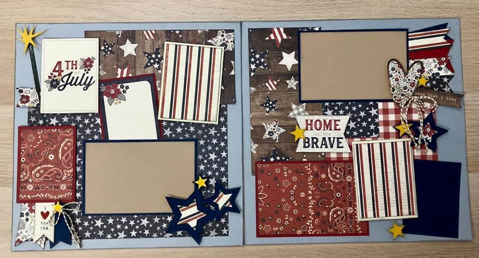 Layout Kit 4th of July