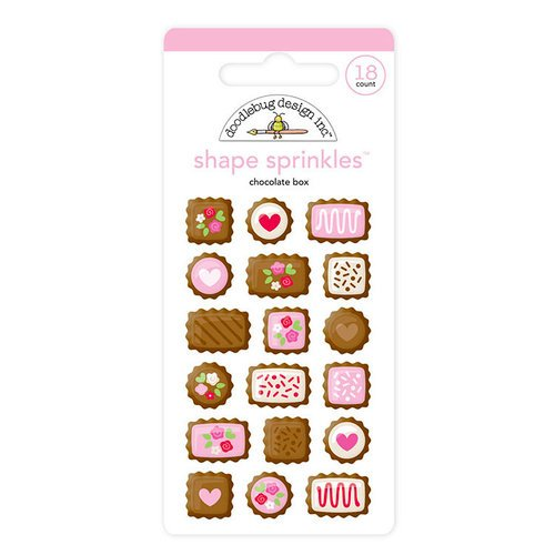 Shape Sprinkles Chocolate Box