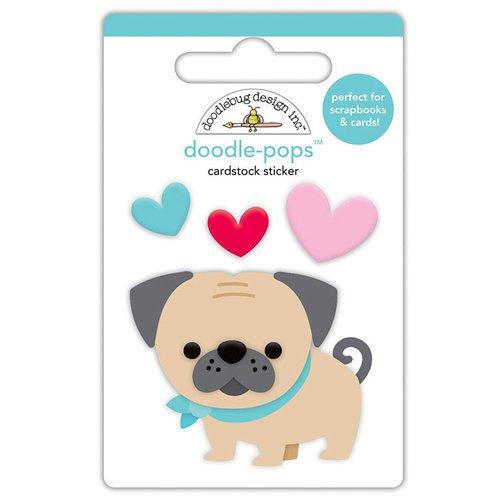 Doodle-pops Love Pug