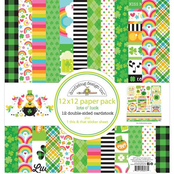 Lots o' Luck 12x12  Paper Pack