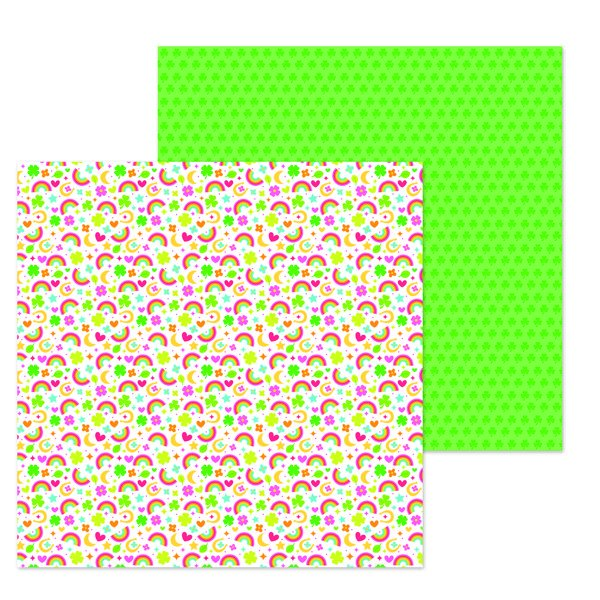 Lots o' Luck So Charming 12x12 Paper