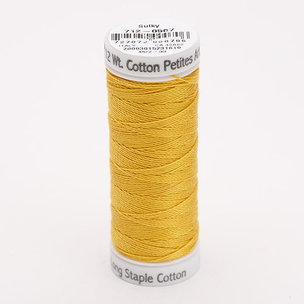 Sulky 12 Wt. Cotton Petites -Butterfly Gold - 50 yd. Spool #712-0567