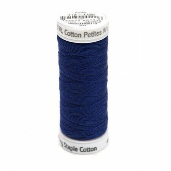 Sulky 12 Wt. Cotton Petites - Admiral Navy Blue - 50 yd. Spool #712-1199