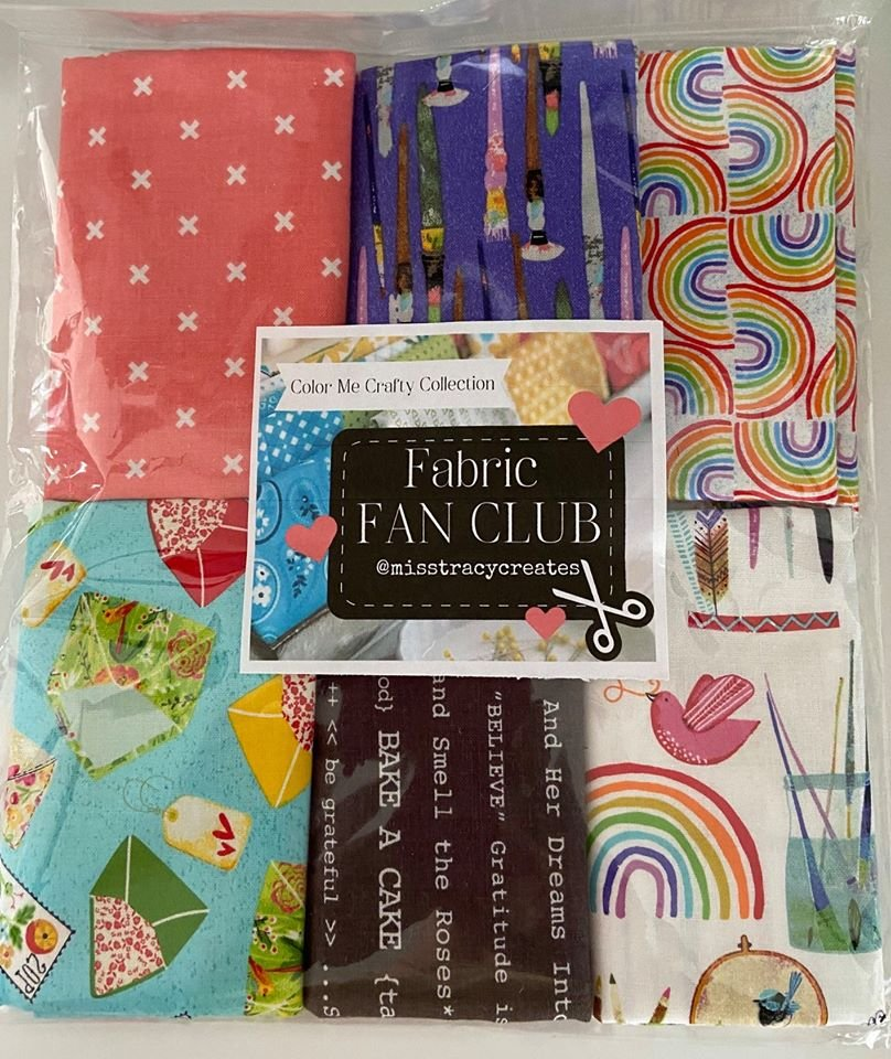Exclusive Fabrics for Fabric Fan Club Members - April