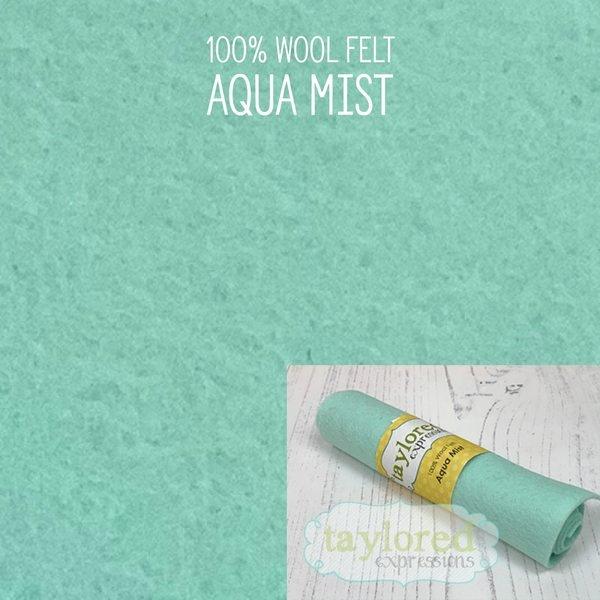 TE Felt- Aqua Mist