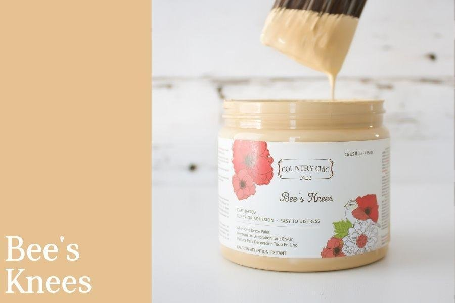 Country Chic Paint- All in One: Bee's Knees 4oz Paint