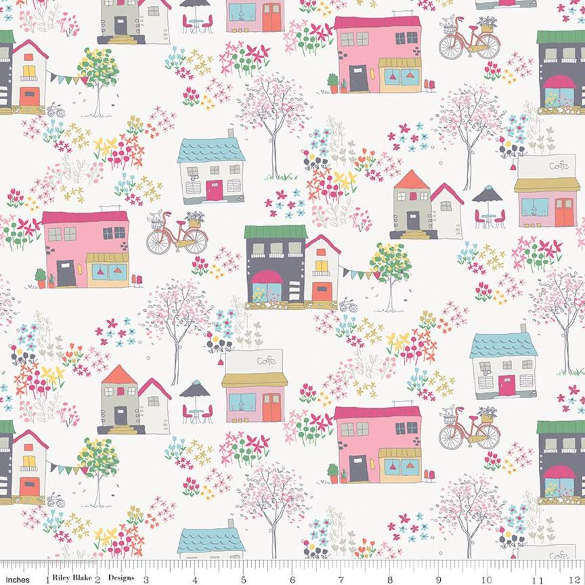 Exclusive Fabrics for Fabric Fan Club Members - July