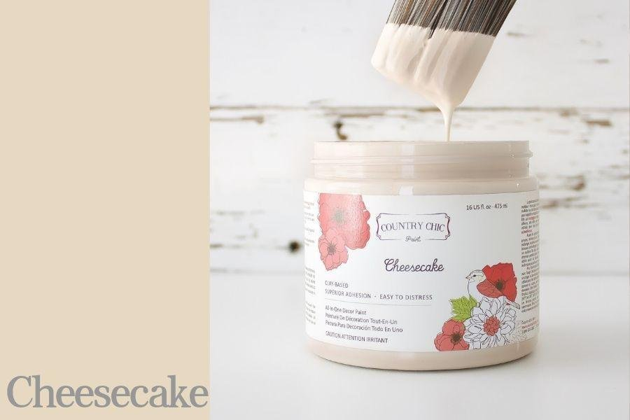 Country Chic Paint- All in One: Cheesecake 16oz Paint