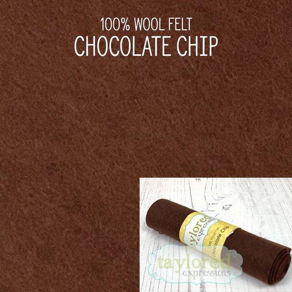 TE Felt- Chocolate Chip