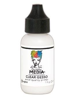 Dina Wakely Clear Gesso 1oz Bottle