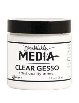Dina Wakley Media Clear Gesso Jar