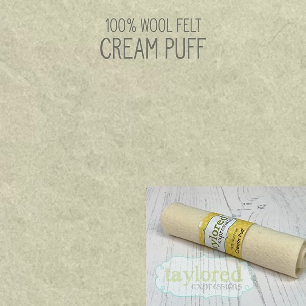 TE Felt- Cream Puff