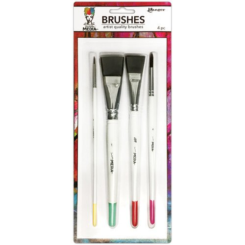 Dina Wakley Media Artist Brush Set