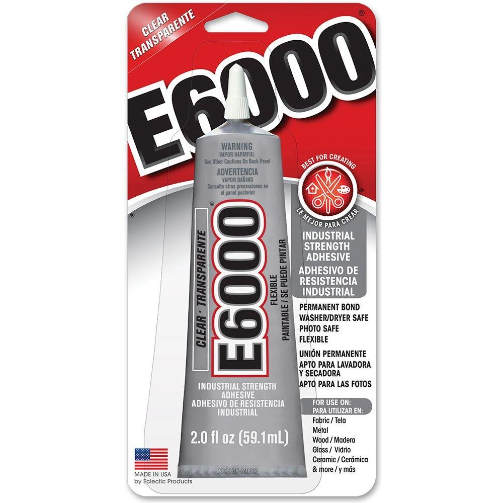 E6000 Adhesive - Clear 2oz