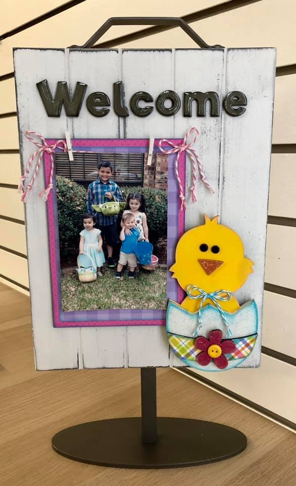 Easter Chick Kit for Welcome Photo Sign