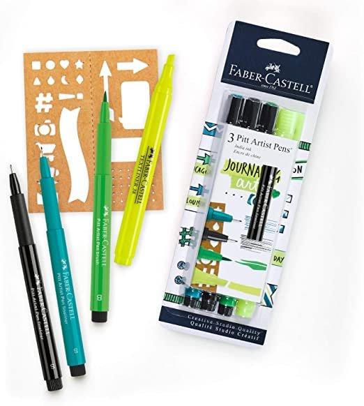 Faber Castell Journaling Art Pitt Pens Set