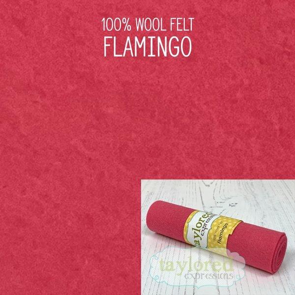 TE Felt- Flamingo