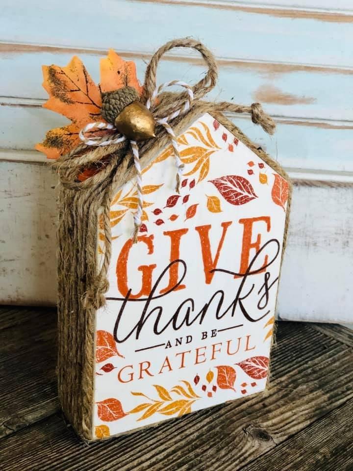 Give Thanks House DIY Kit *PRE-ORDER*