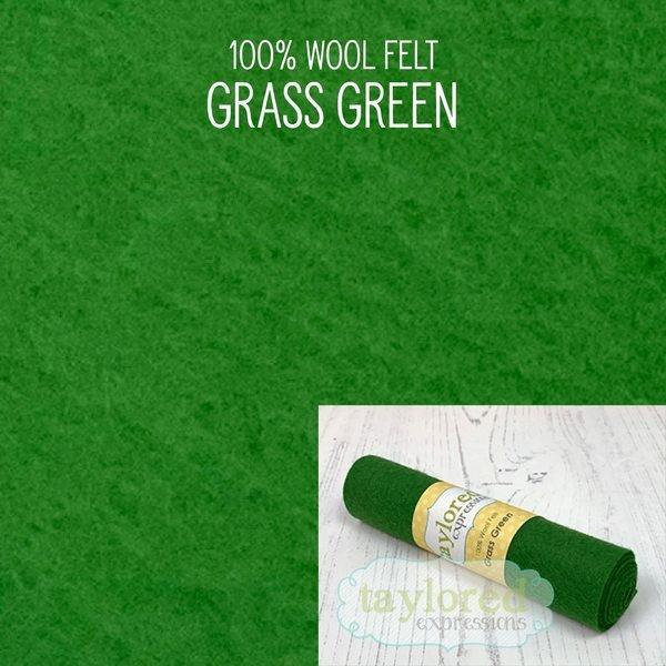 TE Felt- Green Grass