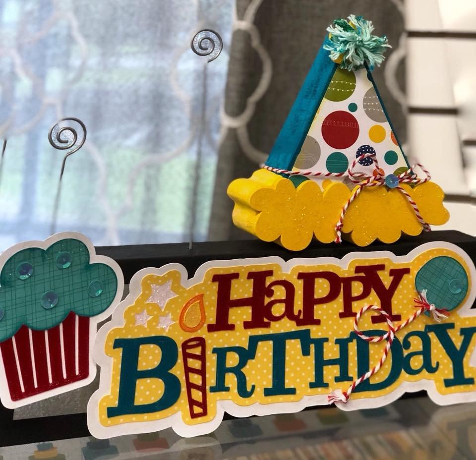 Photo Block Kit - Birthday