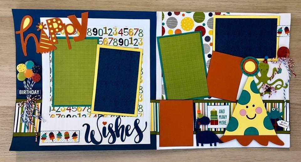 Layout Kit  Birthday Happy Wishes