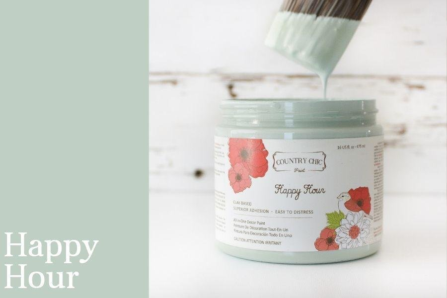Country Chic Paint- All in One: Happy Hour 4oz Paint