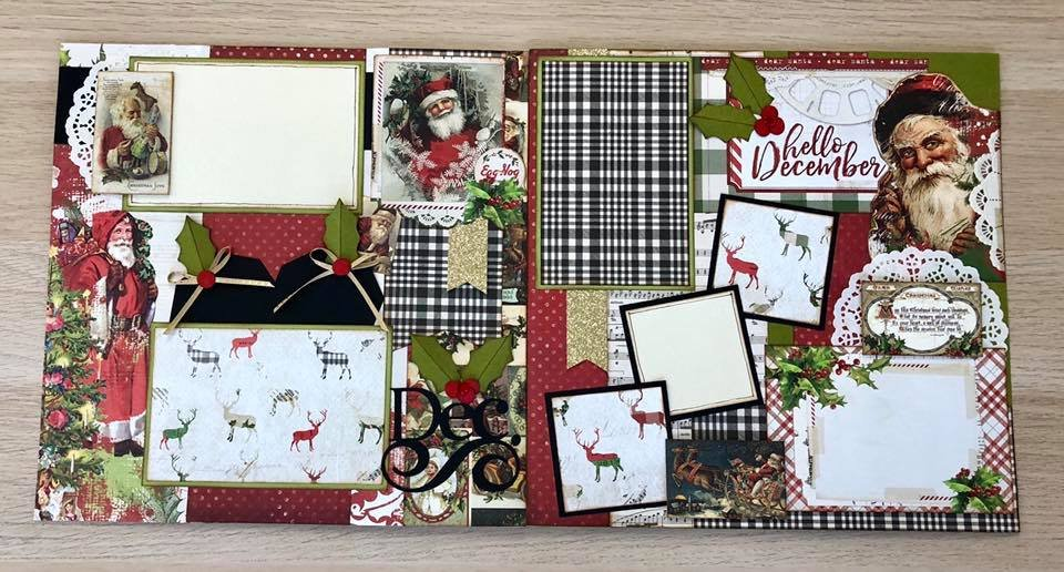 Layout Kit Hello December