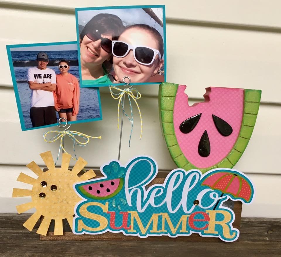 Photo Block Kit- Hello Summer
