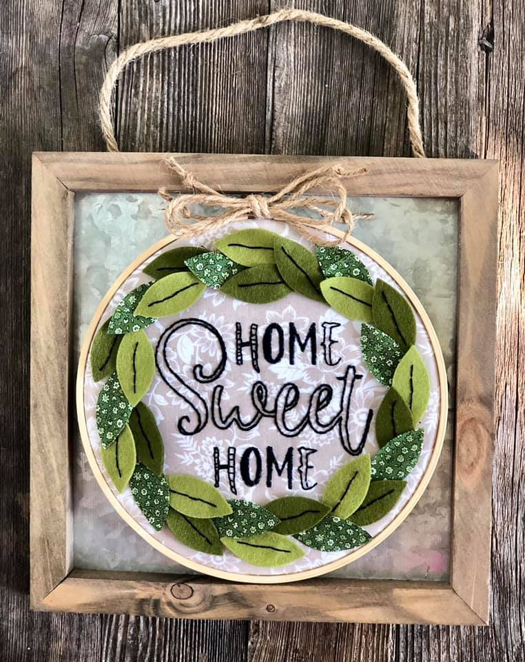 Itch to Stitch Online Workshop: Home Sweet Home Hoop